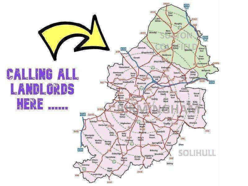A Call To All Landlords On This Map Of Birmingham