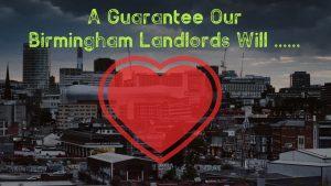 Guaranteed Rent Birmingham Landlords Can Enjoy