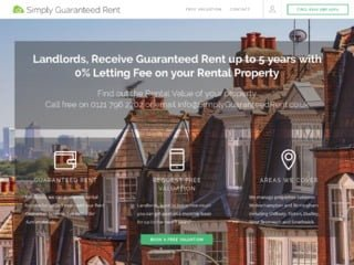 simply guaranteed rent capture from website
