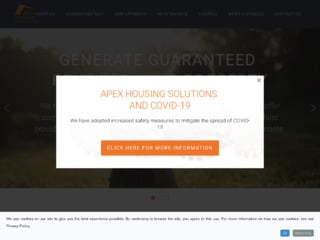 Web capture of Apex Housing Solution website online
