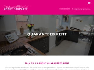 Capture Of Smart Property Web Page